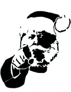 Santa enfadado