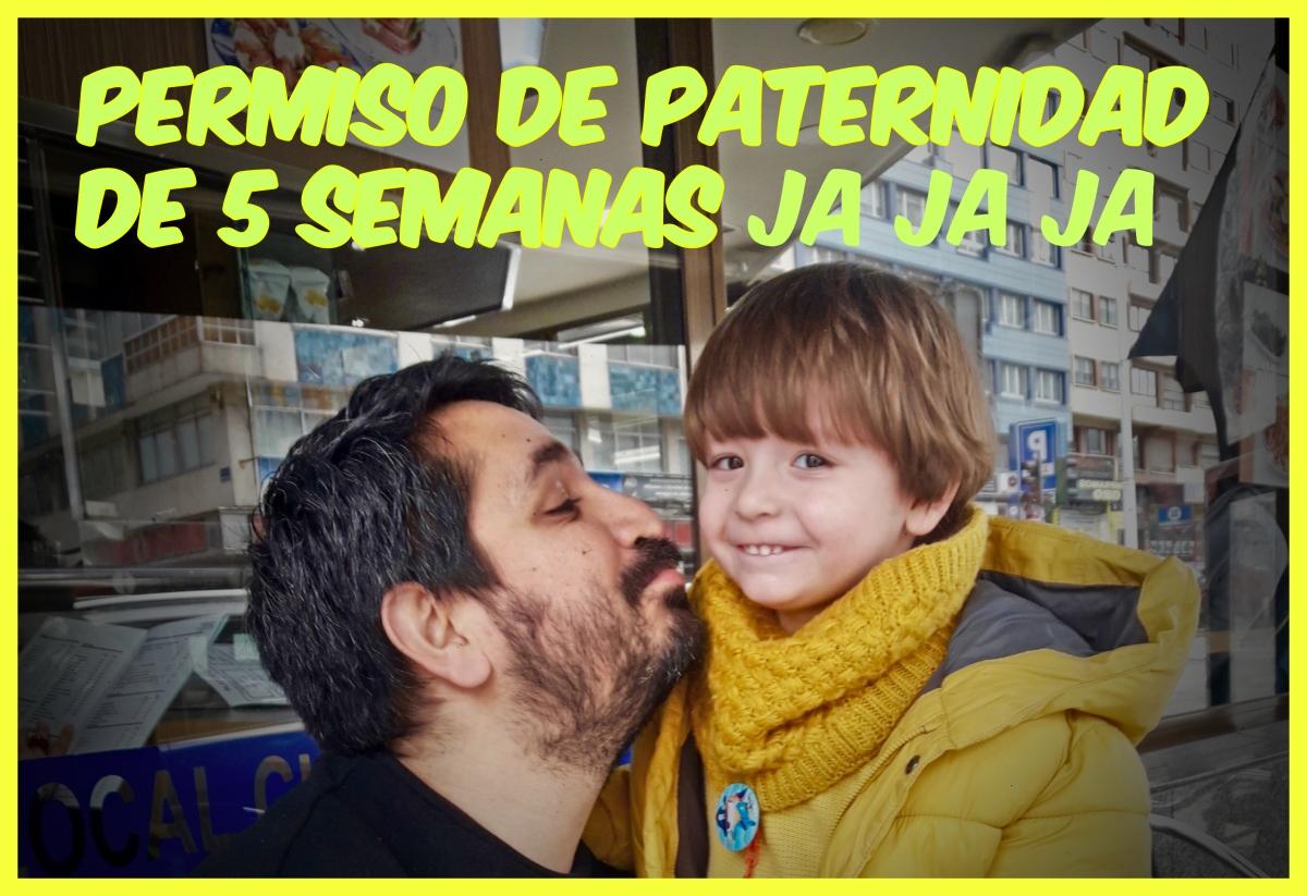 Diario de a bordo: Permiso de Paternidad de 5 semanas