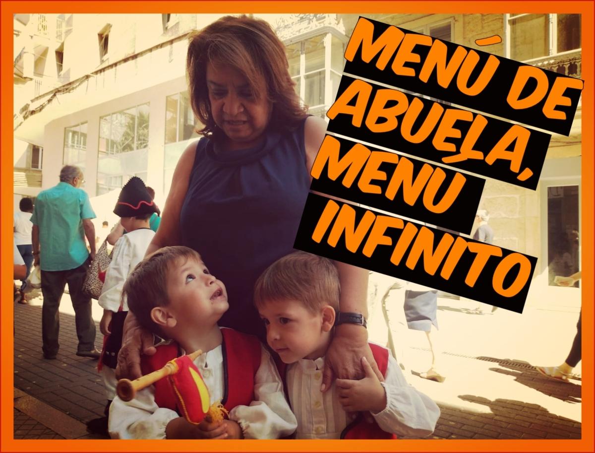 Diario de a bordo: Menú de abuela, menúinfinito